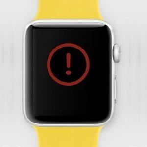 Apple Watch unexpected shutdown