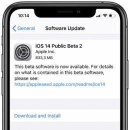 Download iOS 14 Public Beta 2