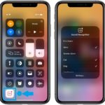 Sound Recognition toggle in Control Center