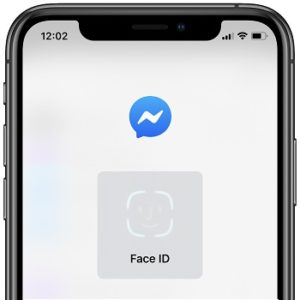 Using Face ID to authenticate in Facebook Messenger