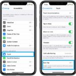 how to configure the iPhone Back Tap quick actions