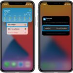 how to edit location in iOS 14 Weather widget