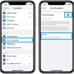 how to set up iPhone Sound Recognition in iOS 14