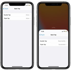 iPhone Back Tap Quick Actions In iOS 14