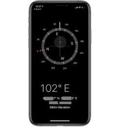 iPhone Compass not working properly