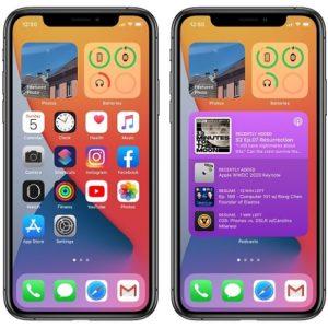 iPhone Home Screen widgets in iOS 14