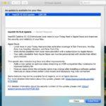macOS 10.15.6 software update log