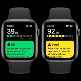 Apple Watch Decibel Meter feature
