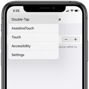 Long-press Back button in Settings to quickly return to Settings main screen