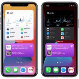 Smart stack widgets in iOS 14