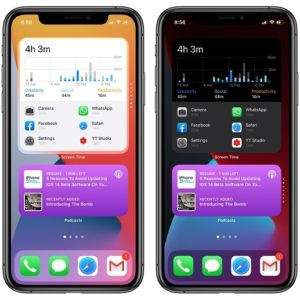 Smart stack widgets in iOS 14