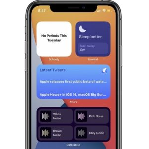 Third party Home Screen widgets in iOS 14