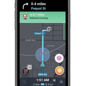 Waze railroad crossing alert