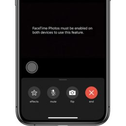 block FaceTime screenshots for enhanced privacy