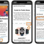 how to download watchOS 7 Beta Software Profile