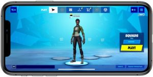 how to start playing Fortnite on iPhone