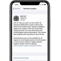 iOS 13.7 software update