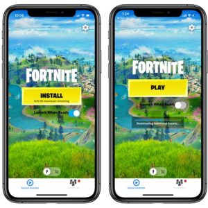 installing Fortnite on iPhone after App Store ban