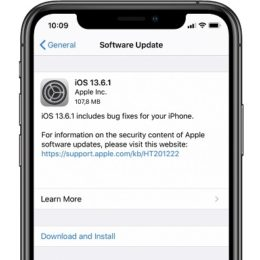 ios 13.6.1 software update