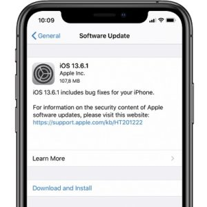 ios 13.6.1 software update