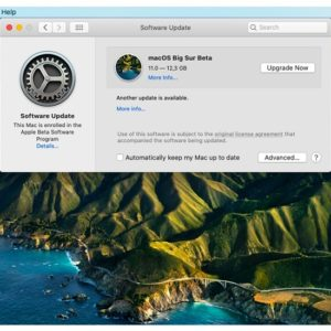 macOS Big Sur Public Beta Software Update