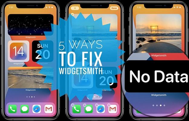 5 ways to fix Widgetsmith