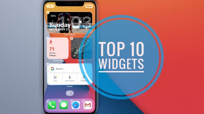 Best Widgets for iPhone Home Screen in iOS 14