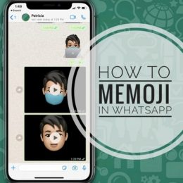 How To Use Memoji in WhatsApp