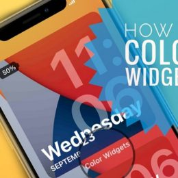 How to use Color Widgets