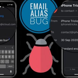 Mail app Email Alias bug demo