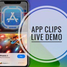 Phoenix 2 App Clip Live Demo