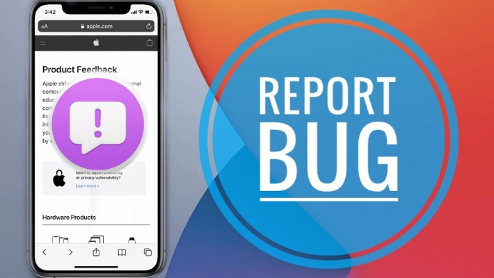 Report iOS 14 Bugs