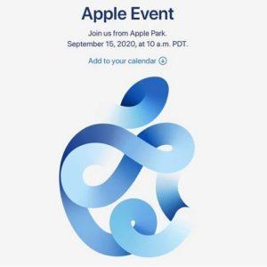 September 15 Apple event logo