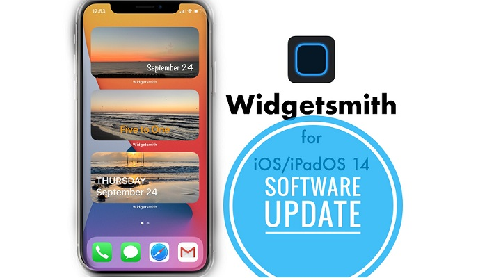 Widgetsmith update fixes grey screen bug
