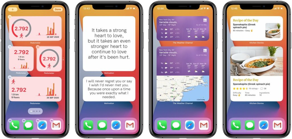 best iPhone Home Screen widgets