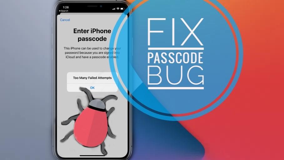 fix iPhone Passcode Bug in iOS 14