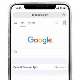 google chrome as default browser on iOS