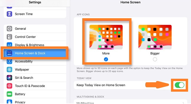 how to pin the Today View on iPad Home Screen