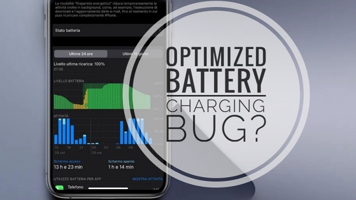 iOS 14 Optimized Battery Charging bug