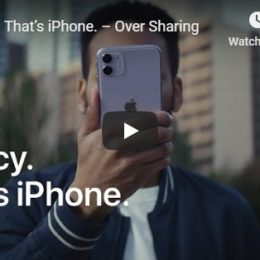 iPhone is Privacy Apple ad