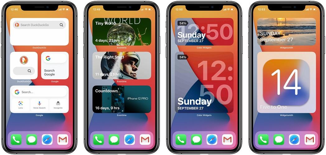 google home widget iphone