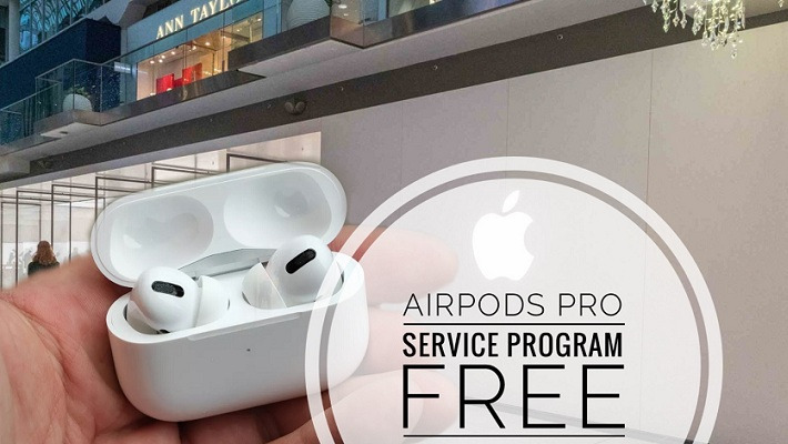 AirPods Pro Free Service for Crackling Sound