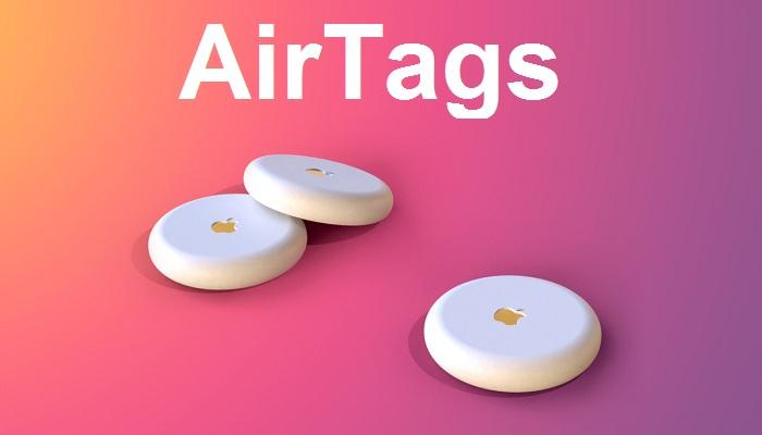 AirTags render
