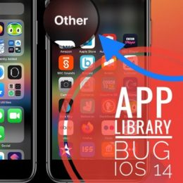 App Library Bug in iOS 14