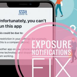 Fix for iPhone 12 Exposure Notifications Bug