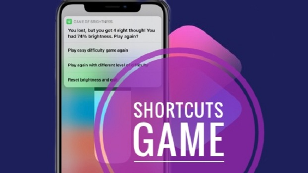 Game Of Brightness iOS 14 Shortcuts Game