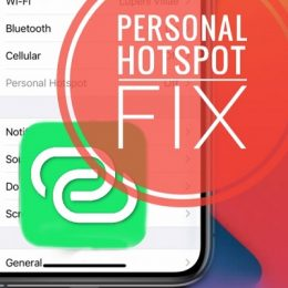 How to fix Personal Hotspot on iPhone