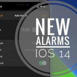How to set Alarms in iOS 14