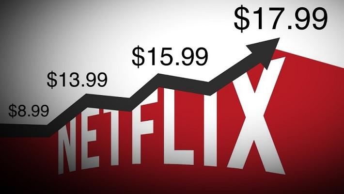 Netflix 4k price increase timeline
