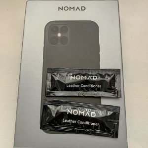 Nomad leather conditioner shipped in the box
